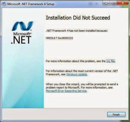 NET-Framework+4.0-Error-Code-HRESULT-0xc8000222