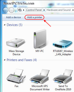 Add+a+printer+button+in+Windows+7